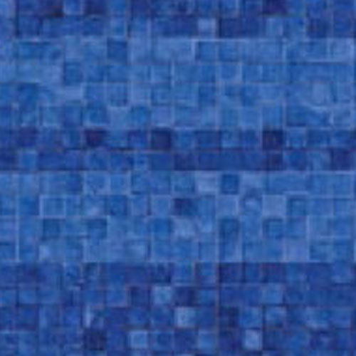Above Ground Vinyl Pool Linear Blue Mosaic