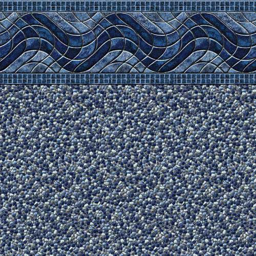 In-Ground Vinyl Pool Linear Kingstone