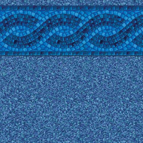 In-Ground Vinyl Pool Linear Ocean Wave