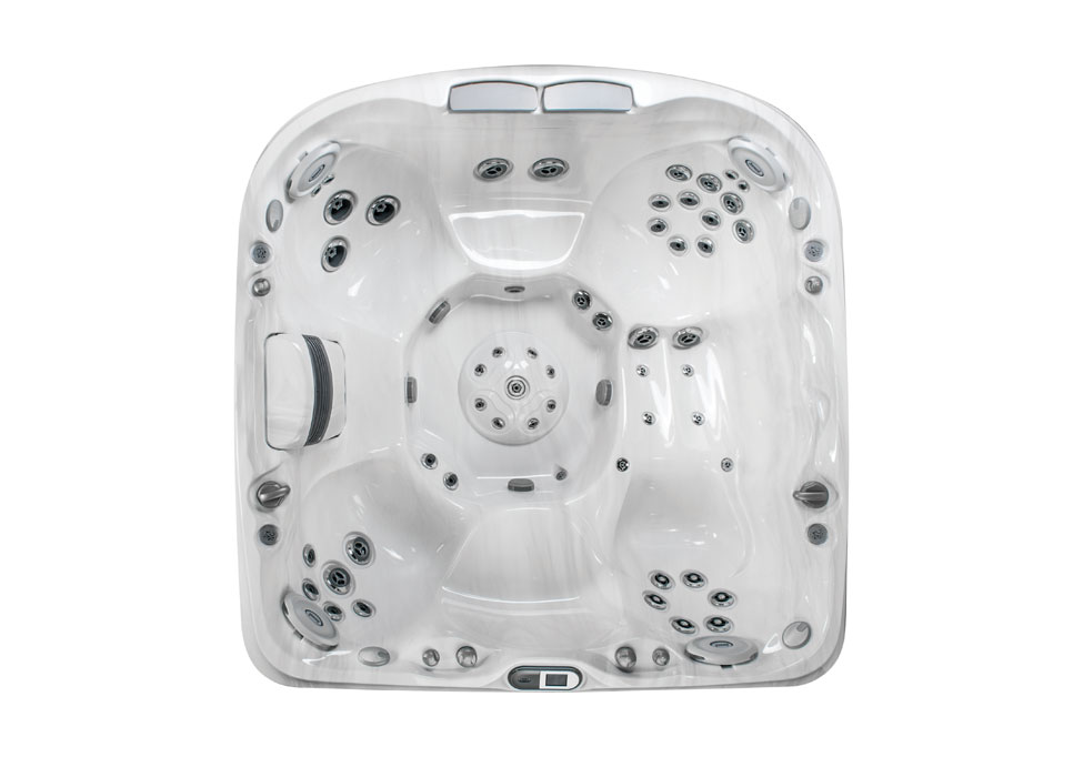 J-480 Large Designer Hot Tub with Lounge Seat