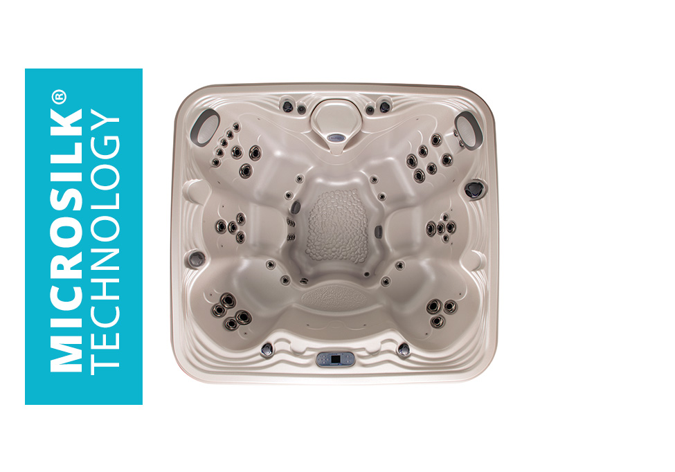 Pool and Spa Superstore Marquis Promise Hot Tub with Microsilk Technology