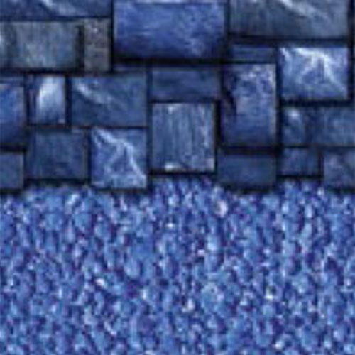 Above Ground Vinyl Pool Linear Blue Slate Streamstone