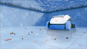 Pool Supplies and Equipment Hero Image - Dolphin Pool Cleaner underwater | Pool and Spa Superstore Inc.