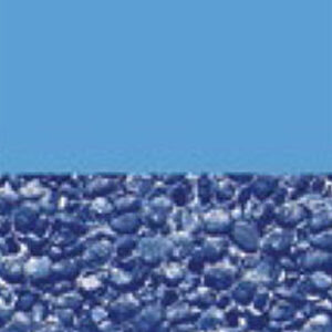 Above ground vinyl pool liner style: Blue Streamstone Pool and Spa Superstore Inc.