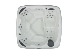 DreamMaker spas Crossover Collection 730L overhead view | Pool and Spa Superstore Inc.