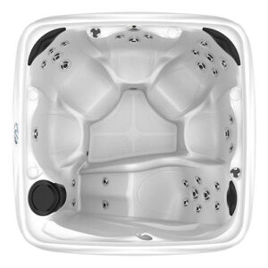 DreamMaker Spas Crossover 730l overhead | Pool and Spa Superstore Inc.