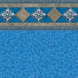 In-ground vinyl pool liner style: Cape Cod | Pool and Spa Superstore Inc.