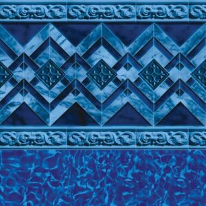 In-ground vinyl pool liner style: Georgetown | Pool and Spa Superstore Inc.
