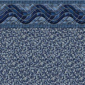 In-ground vinyl pool liner style: Kingstone | Pool and Spa Superstore Inc.