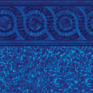 In-ground vinyl pool liner style: Port Royal | Pool and Spa Superstore Inc.