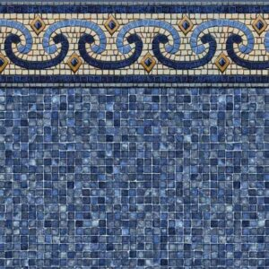 In-ground vinyl pool liner style: Naples | Pool and Spa Superstore Inc.
