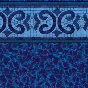 Oxford / Electric Aquarius | Latham vinyl in-ground pool liner | Pool and Spa Superstore Inc.
