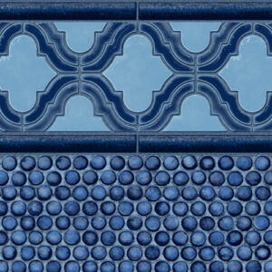 Seaside / Penny Mosaic | Latham vinyl in-ground pool liner | Pool and Spa Superstore Inc.