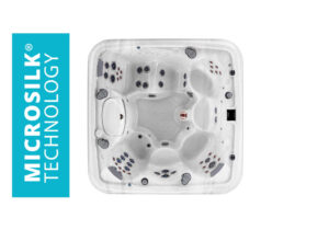 Marquis Spas Crown Collection The Epic Hot Tub overhead | Pool and Spa Superstore Inc.