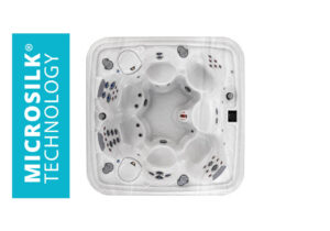 Marquis Spas Crown Collection The Euphoria Hot Tub overhead | Pool and Spa Superstore Inc.