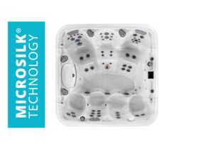 Marquis Spas Crown Collection The Summit Hot Tub overhead | Pool and Spa Superstore Inc.