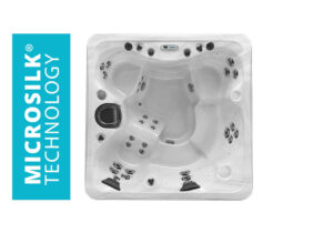 Marquis Spas Elite The Broadway Elite Hot Tub overhead | Pool and Spa Superstore Inc.