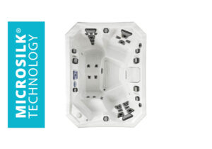 Marquis Spas Vector21 V65L Hot Tub overhead | Pool and Spa Superstore Inc.