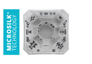 Marquis Spas Vector21 V84 Hot Tub overhead | Pool and Spa Superstore Inc.