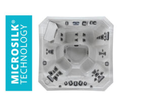 Marquis Spas Vector21 V84L Hot Tub overhead | Pool and Spa Superstore Inc.