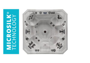 Marquis Spas Vector21 V94 Hot Tub overhead | Pool and Spa Superstore Inc.