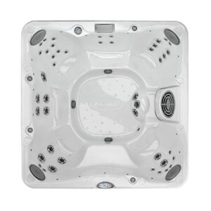 Jacuzzi J-280 Classic Hot Tub with Open Seating overhead | Pool and Spa Superstore Inc.