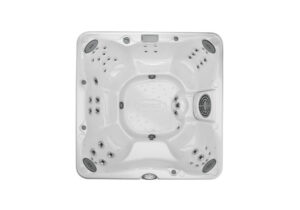 Jacuzzi J-280 hot tub overhead view | Pool and Spa Superstore Inc.