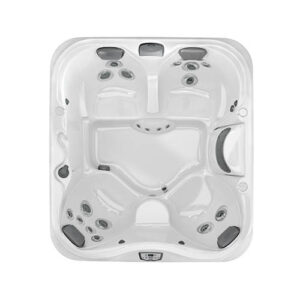 Jacuzzi J-325 Comfort Hot Tub with Open Seating overhead | Pool and Spa Superstore Inc.