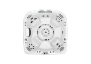 Jacuzzi J-470 hot tub overhead view   Pool and Spa Superstore Inc.