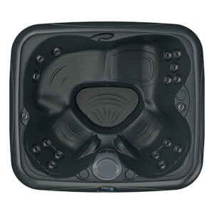 DreamMaker Spas Stonehenge EZL Spa overhead | Pool and Spa Superstore Inc.