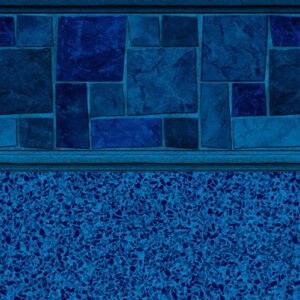 Courtstone Blue Stardust Blue | Latham vinyl in-ground pool liner | Pool and Spa Superstore Inc.