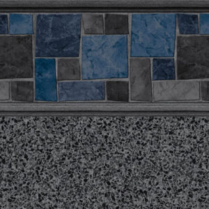 Courtstone Grey Stardust Grey | Latham vinyl in-ground pool liner | Pool and Spa Superstore Inc.