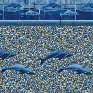 Dolphin / Royal Seabrook | Latham vinyl in-ground pool liner | Pool and Spa Superstore Inc.
