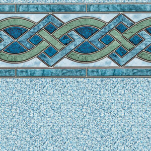 Marble Inlay / Crystal | Latham vinyl in-ground pool liner | Pool and Spa Superstore Inc.