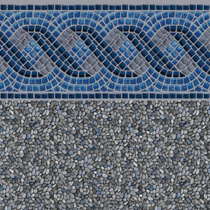 Seacrest | Tara vinyl in-ground pool liner | Pool and Spa Superstore Inc.